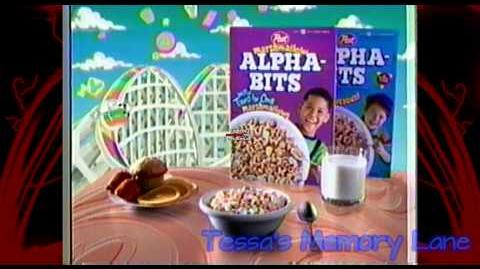 "Alpha Bits ""Looney Tunes Stickers"" Commercial (1995) RE-UPLOAD"
