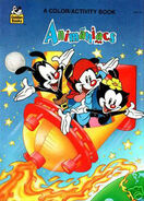 Lt coloring golden color activity book animaniacs