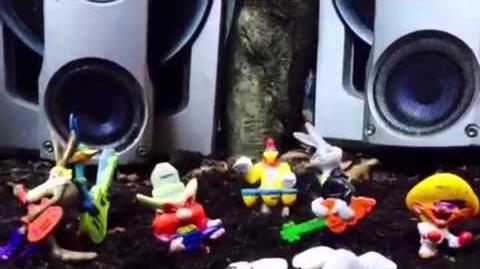 Stop Motion Pepsi Looney Tunes (unila) 2014
