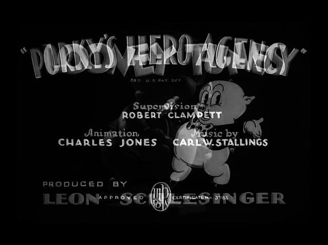1937-12-04 Porky's Hero Agency (LT (Porky Pig))