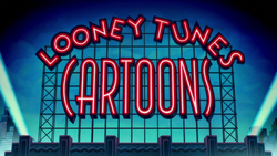 Looney Tunes Cartoons Series Title