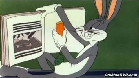 LOONEY TOONS Falling Hare (Bugs Bunny) (1943) (Remastered) (HD 1080p)