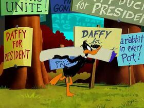 Looney Toons - Bugs Bunny 203 - Daffy Duck For President