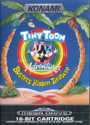 Tiny Toon Adventures MegaDrive PAL