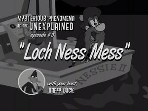 Lochnessmess