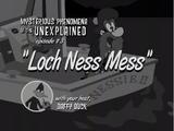 Loch Ness Mess