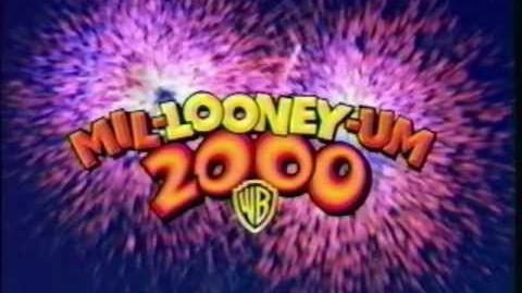 """Looney Tunes """"Mil-Looney-Um 2000"""" promo bumper"""