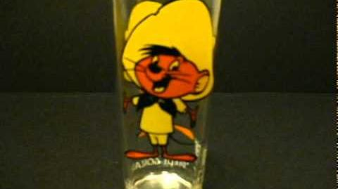 Speedy Gonzales 1973 WB Pepsi Looney Tunes Glass