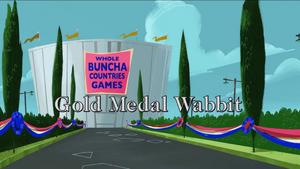 Gold Medal Wabbit