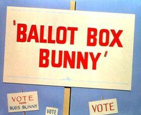 Ballot Box BunnyTitle