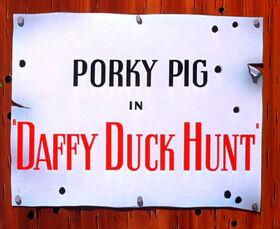 Daffy Duck Hunt Title