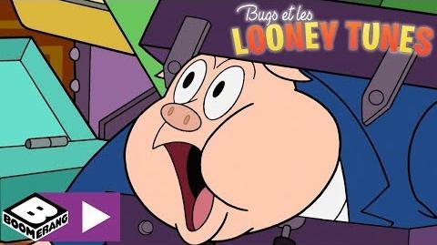 Le train de l'angoisse - Bugs et les Looney Tunes - Boomerang