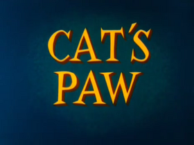 Cat's Paw title card