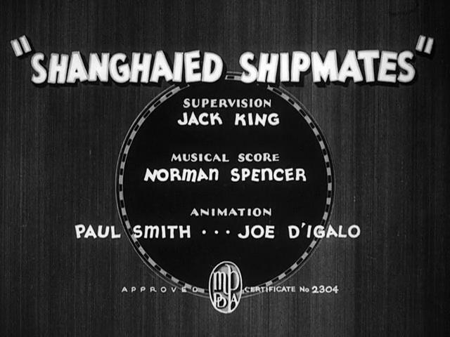 Porky Pig - Shanghaied Shipmates (1936)