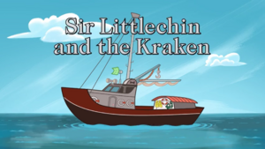 Sir Littlechin and the Kraken