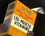 Leg Muscle Vitamins