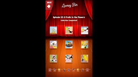 Looney Tunes Dash Card Collection Episode 12 A Frolic in the Flowers