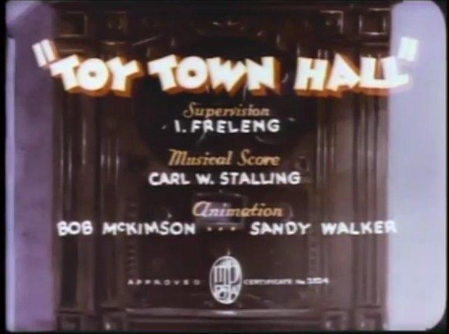 1936-09-19 - Toy Town Hall