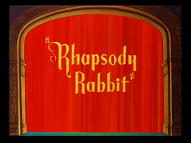 Rhapsody Rabbit--restored