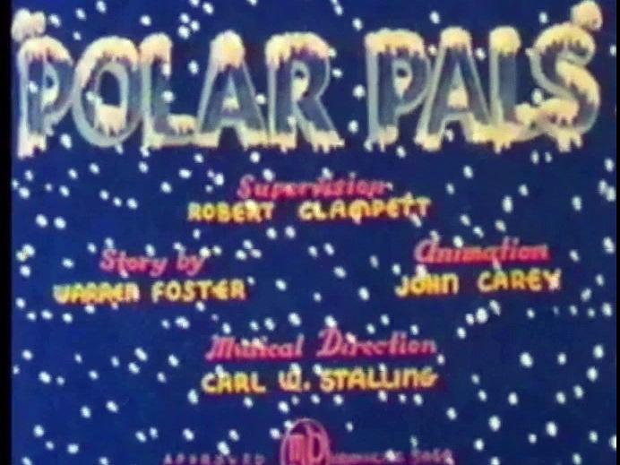 Polar Pals (1939) Redrawn Colorized