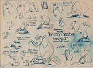 Horton's model sheet