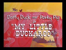 Daffy Duck - My Little Duckaroo (1954)