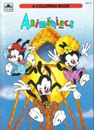 Lt coloring golden animaniacs