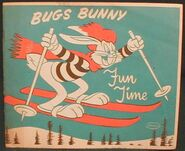 Lt coloring whitman bugs bunny fun time