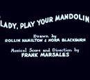 Lady, Play Your Mandolin!
