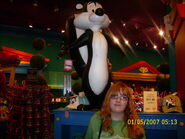 Me and pepe le pew by kr1101-d51sxr5