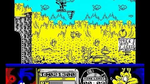 Road Runner and Wile E. Coyote Walkthrough, ZX Spectrum