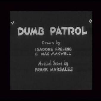 Dumb Patrol 1931 Short Looney Tunes Wiki Fandom