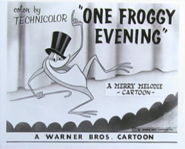 OneFroggyEvening Lobby Card