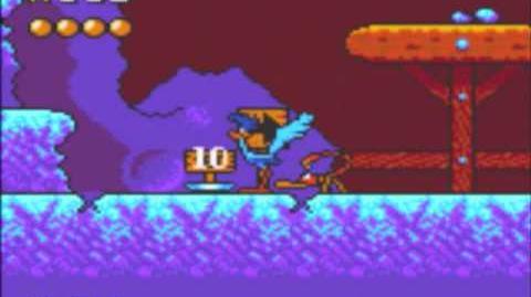 Desert Speedtrap (Sega GameGear) - Walkthrough - Level 10 - Up and Under