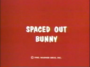 Spaced Out Bunny title card