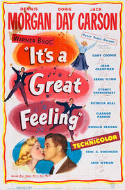 It's a Great Feeling 1949 poster