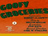 Goofy Groceries