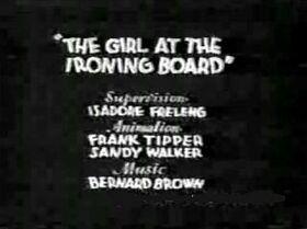 Girlatironingboard