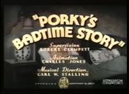 Porky's Badtime Story (Computer Colorized)