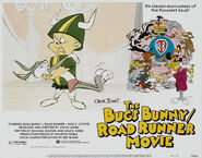 Lt bugs bunny road runner movie lobby card 4