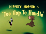 Too Hop To Handle