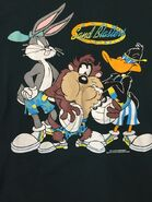 Worn Men's Warner Bros Acme Sand Blasters Size Large Bugs Bunny Taz
