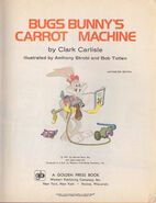 Bugs Bunny Carrot Machine - 39 cent no 127
