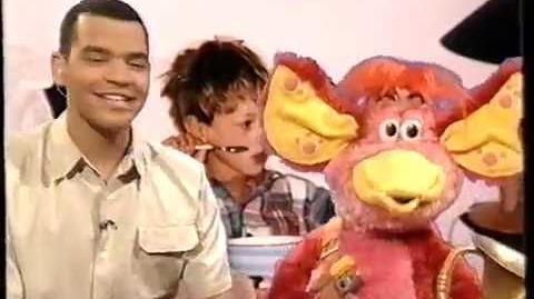 CBBC Breakfast Show before Taz Mania