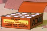 Explosive Tennis Balls