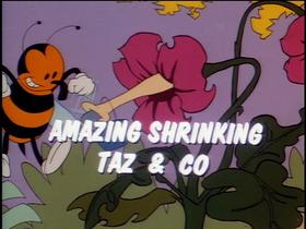 Amazing Shrinking Taz and Co