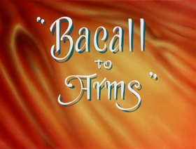 Bacall to arms title