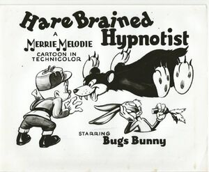 The Hare Brained Hyponotist Lobby Card