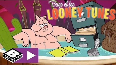 Bain relaxant - Bugs et les Looney Tunes - Boomerang