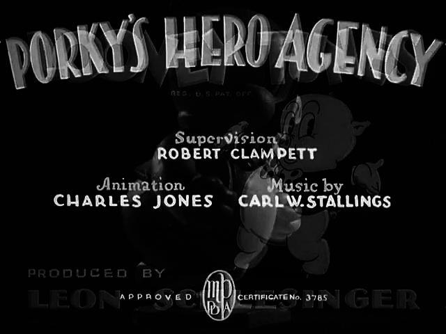 Porky Pig - Porky's Hero Agency (1937)